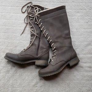 Maurices combat boots